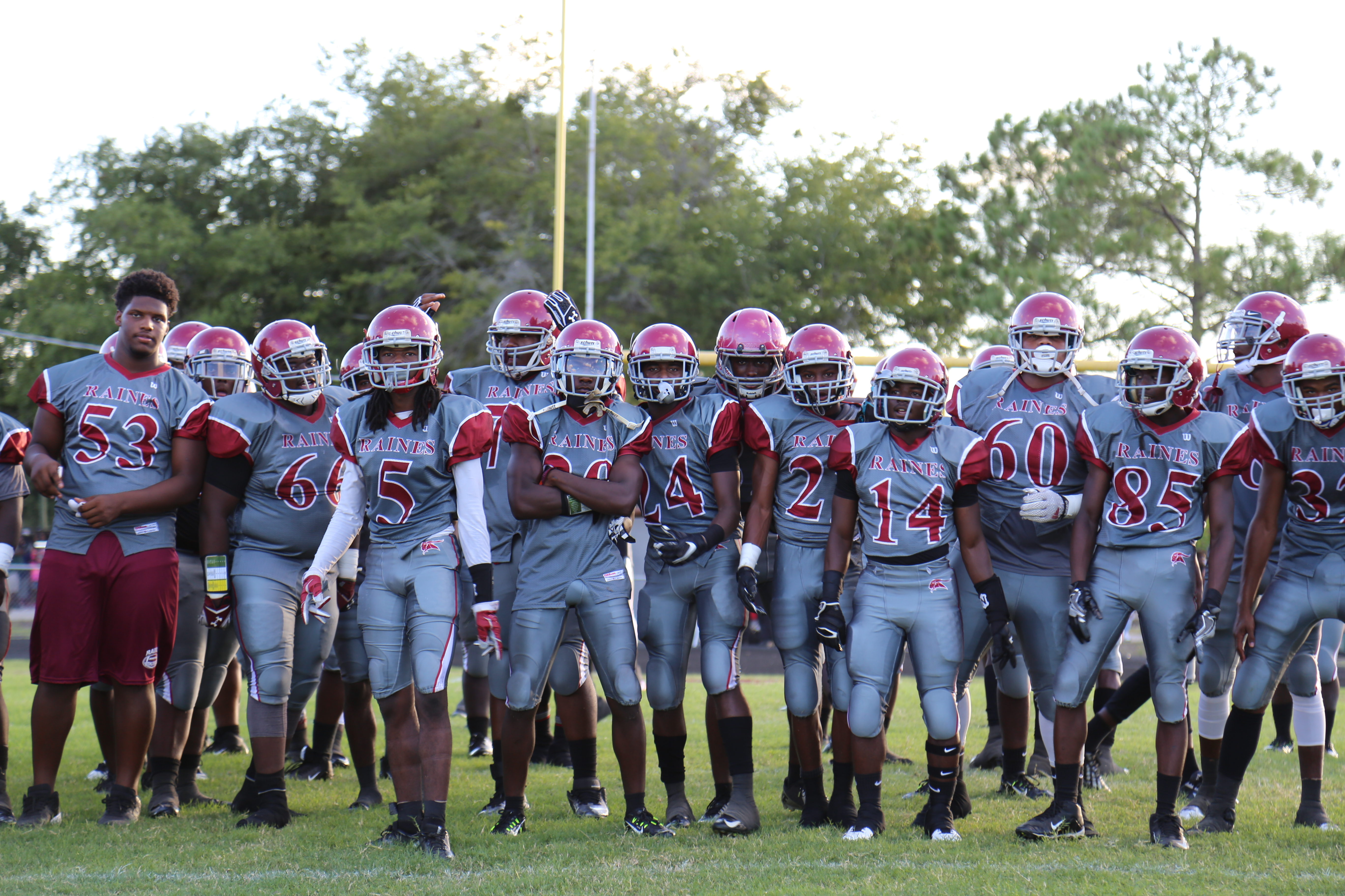 Raines stays in 4A for now but look for the Vikings to possibly move up to 5A.