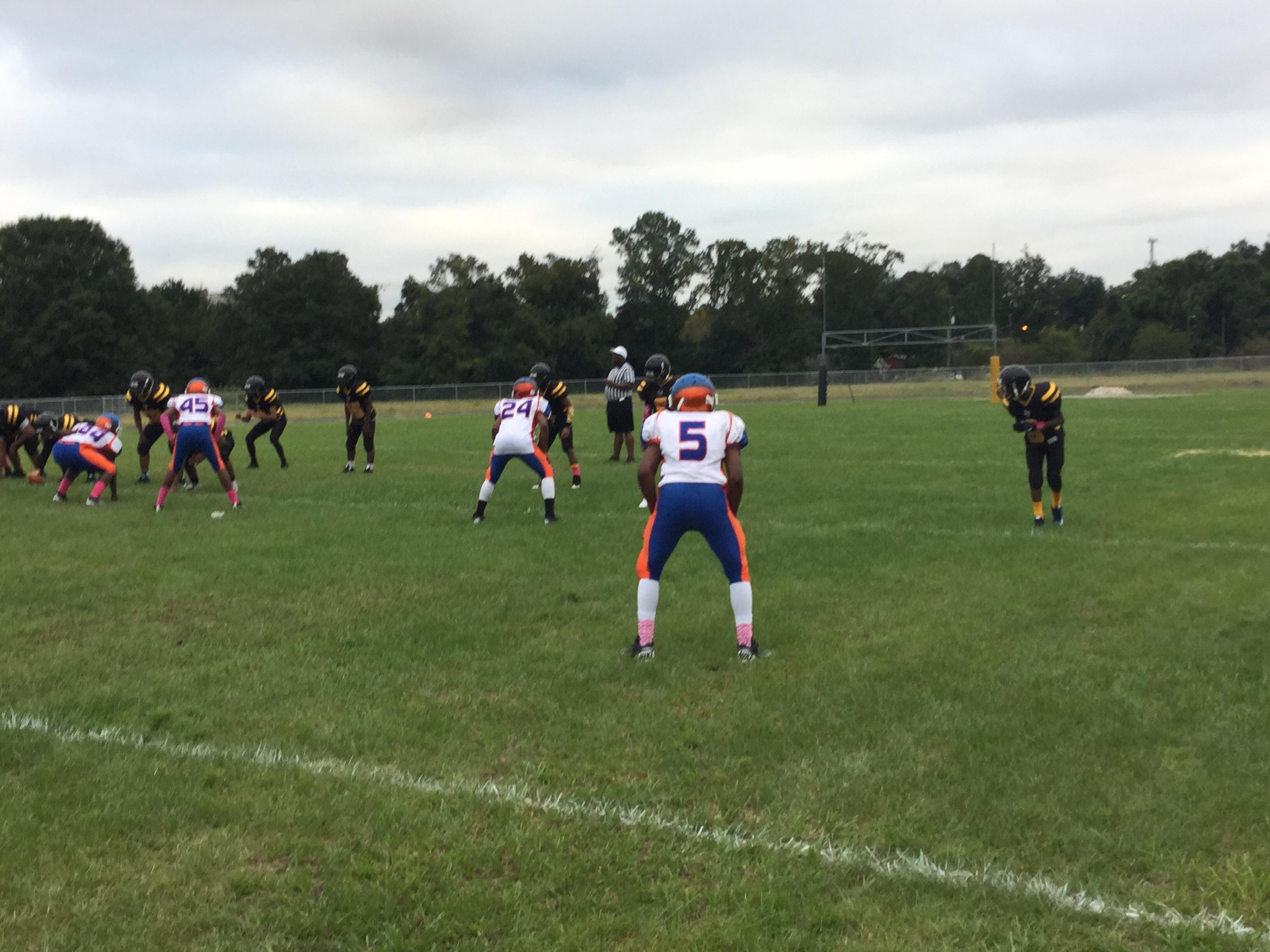 Northwestern 7 Yard Punt Image