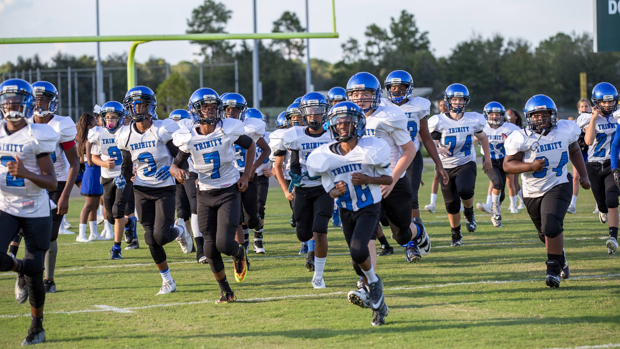 middle school private school schedules | northeast florida sports
