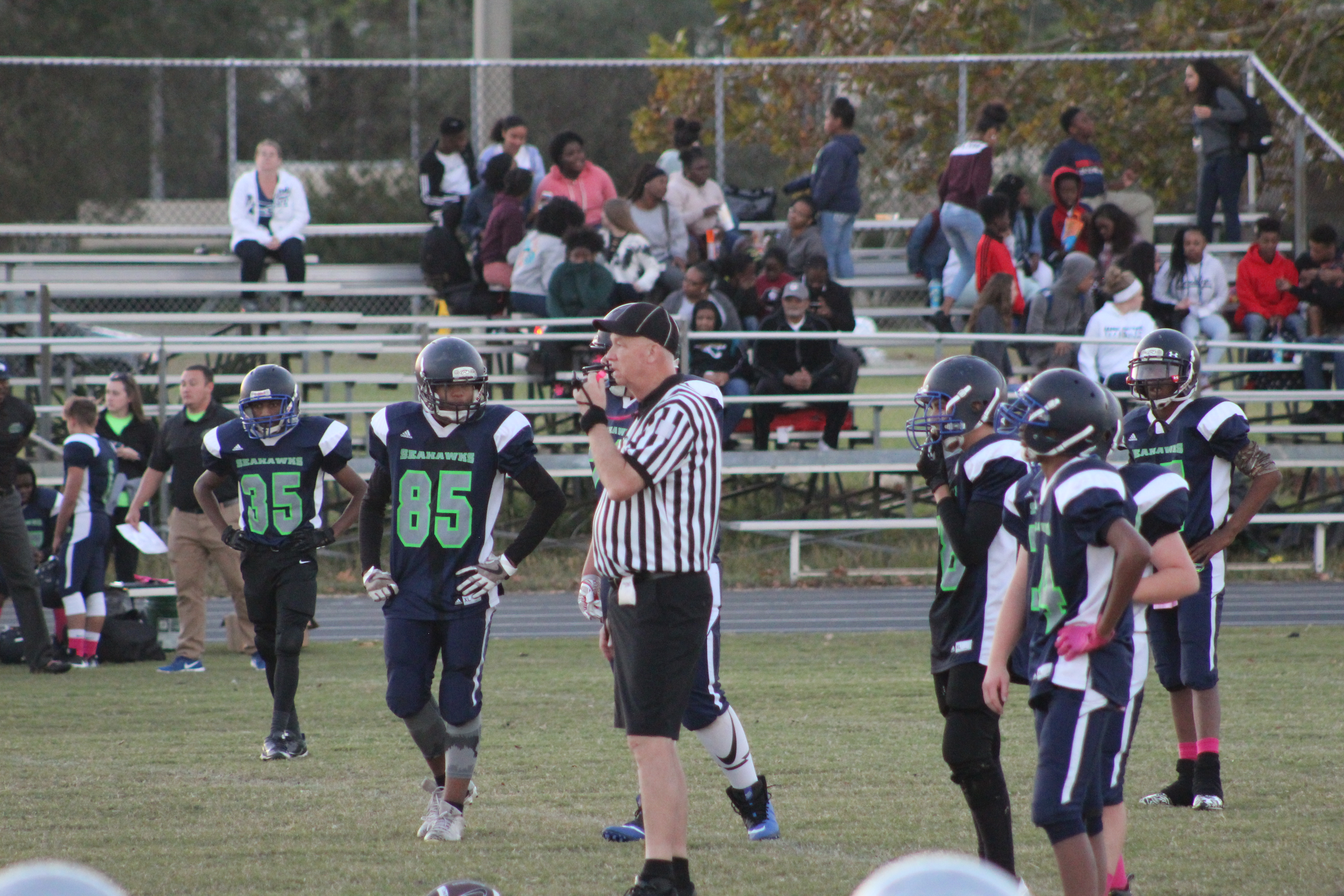 Duval County Middle School Football Scores Week #6