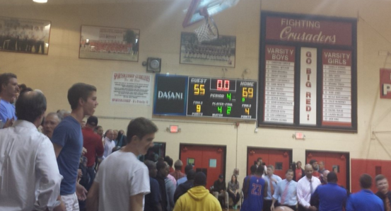 Bishop Kenny Pulls Away Late To Defeat Wolfson!! | Northeast